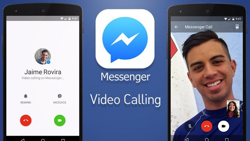 gọi video trên facebook