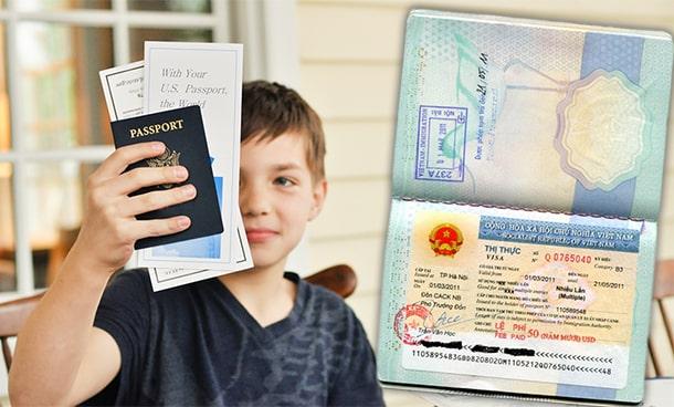 làm visa pastport