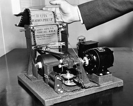 máy fax đầu tiên