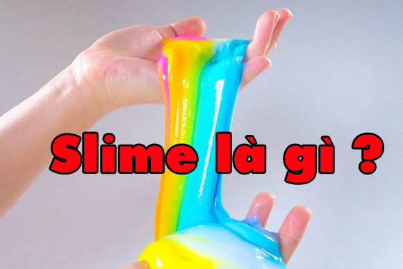 Cách làm slime bằng keo